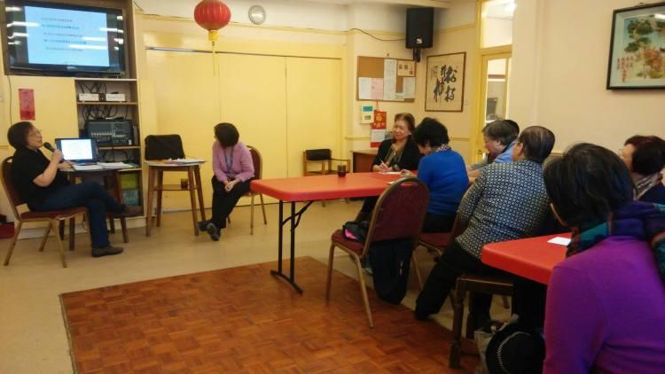Dementia talks at ICA