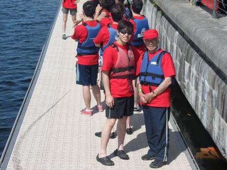 ICA Dragon Boat team 02 140629