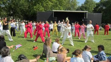 ICA in Highbury Fields 02 in London's Olympic year 120817