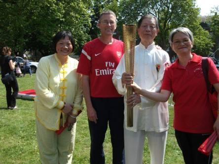 ICA in Highbury Fields 03 in London's Olympic year 120817