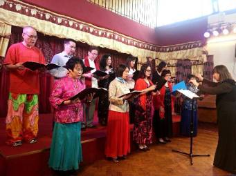 ICA Singing Group CNY celebrations 140208