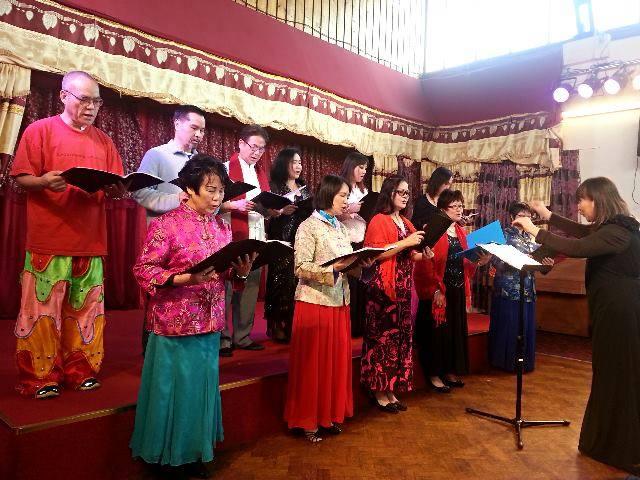 ICA Singing Group CNY celebrations 140208