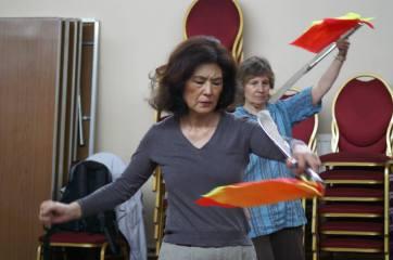 ICA taiji broadsword class