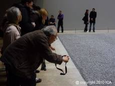 ICA visit to Tate Modern Ai Weiwei Sunflower seeds exhibition 101103