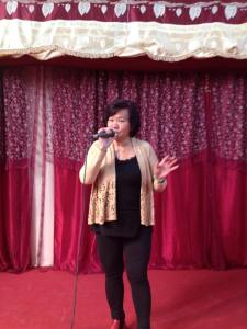 singing from Malaysia