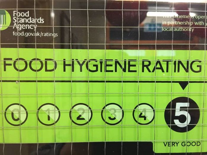 ICA Food Hygene Rating 2015