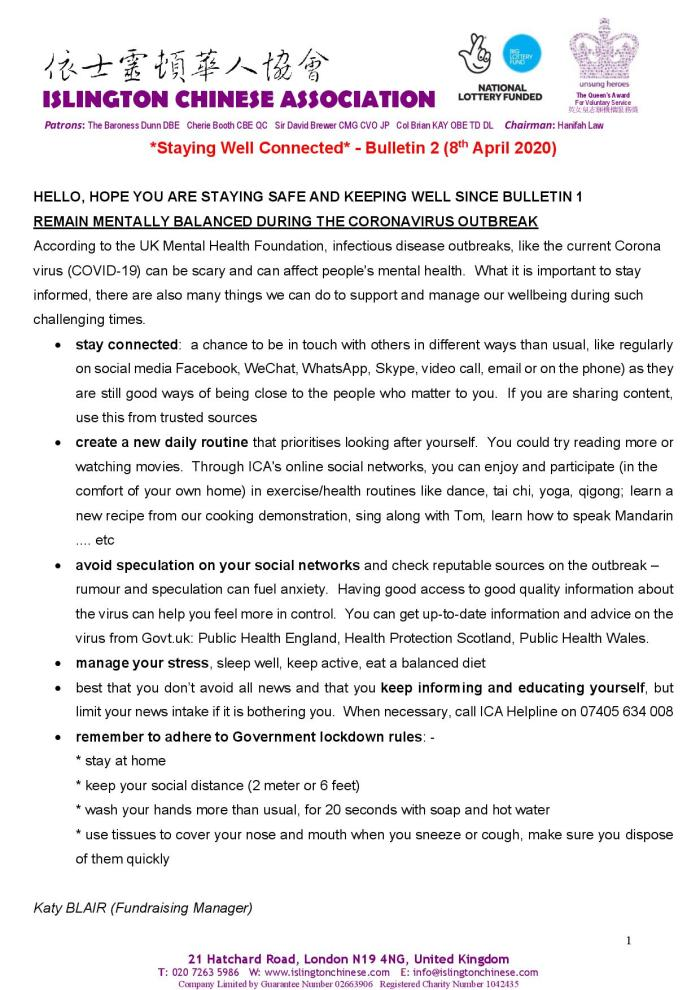 Staying Well Connected - Bulletin 2 on 8th April 2020-page-001